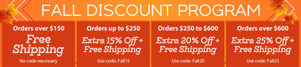 Fall Discount Program